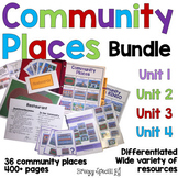 DISCOUNTED Community Places Curriculum BUNDLE for Special