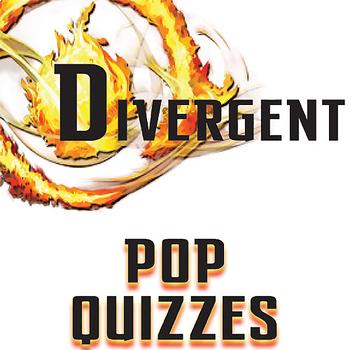 DIVERGENT 13 Pop Quizzes Bundle