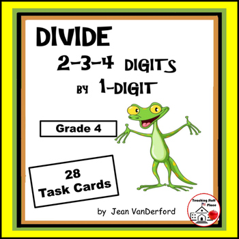 DIVISION | Divide 2-3-4-digits x 1-digit| Early Finishers|