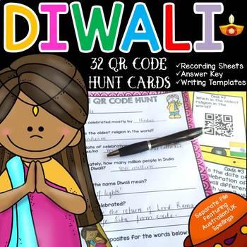 DIWALI: QR CODE HUNT: HOLIDAYS AROUND THE WORLD