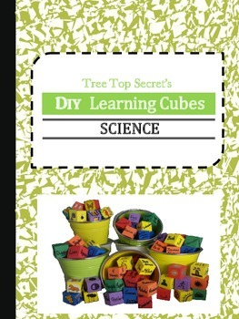 DIY Learning Cubes Science
