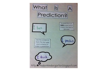 DIY: Prediction Anchor Chart