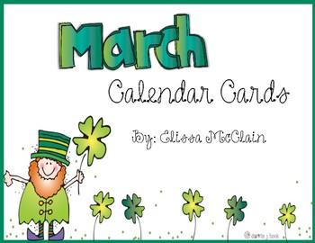 DJ Inkers March Calendar Cards