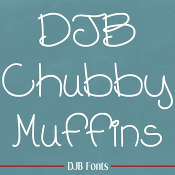 DJB Chubby Mufins Font - Personal Use