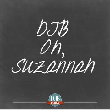 DJB Oh, Suzannah Font - Personal Use