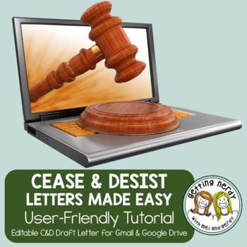 DMCA Copyright Protection - Cease and Desist Letter Creator