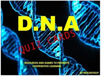 DNA, Quiz cards