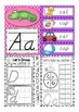 D'Nealian Alphabet Letter Of The Week A to Z BUNDLE