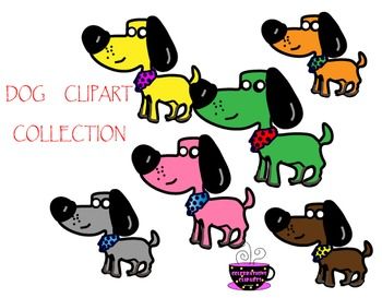 DOG CLIPART COLLECTION