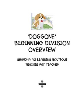 DOGGONE BEGINNING DIVISION OVERVIEW