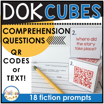DOK Comprehension Cubes (fiction)