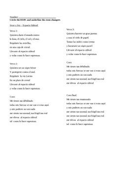 DOPs in Song Lyrics