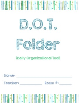 D.O.T. Folder Cover