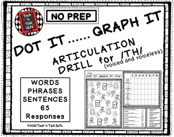 DOT IT ... GRAPH  - IT ARTICULATION DRILL FOR  VOICED AND