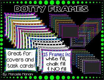 DOTTED COVER PAGE AND TASK CARD FRAMES