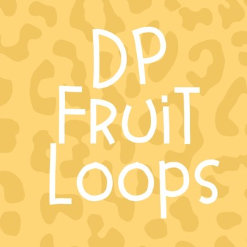 DP Fruit Loops Font: Personal Use