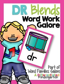 DR Blends Word Work Galore-Differentiated and Aligned Acti
