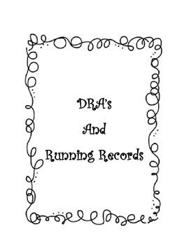 DRA & Running Records Forms