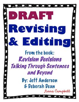 DRAFT - Revising and Editing