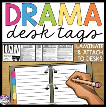 DRAMA DESK TAGS: Student Theatre / Drama Reference
