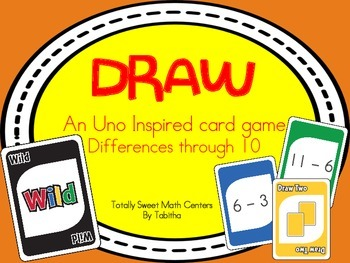 DRAW (An Uno Inspired Card Game) Differences through 10