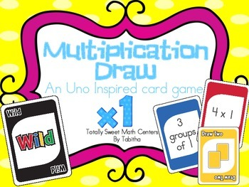DRAW (An Uno Inspired Card Game) Multiplying by 1