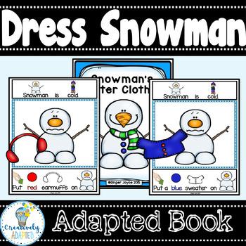ADAPTED WINTER BOOK-DRESS SNOWMAN