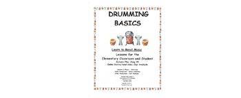 DRUMMING BASICS Lesson 8 (Three Pt. Drum Cadence)
