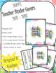 DUFFS Teacher Binder Covers (Tropical Binder Premium)
