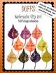 DUFFS Watercolor Clip Art - Fall Foliage Collection