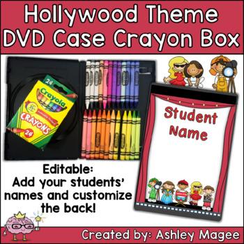 DVD Case Crayon Box Hollywood Theme