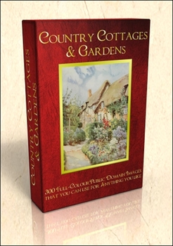 DVD - Country Cottages.  300 out-of-copyright illustration