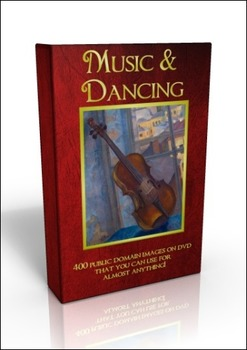 DVD - Music and Dancing - 400 public domain images