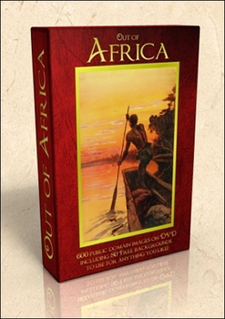 DVD - Out of Africa.  520 out-of-copyright images to use f
