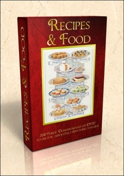 DVD - Recipes & Food. 350 out-of-copyright images to use f
