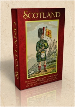 DVD - Scotland.  517 out-of-copyright images to use for al