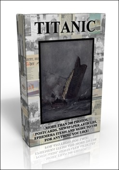 DVD - Titanic Scrapbook - More than 200 public domain images