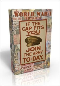 DVD - World War 1 posters, book illustrations, sheet music & more