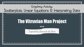 The Vitruvian Man Investigation: scatterplots & linear equations