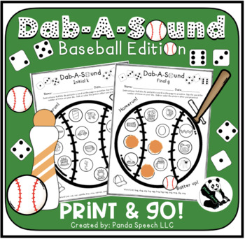 Dab-A-Sound Baseball Edition: Common Articulation Targets
