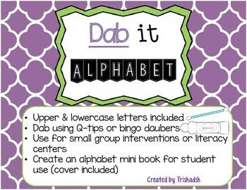 Dab-It Alphabet