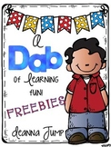 Dab of Learning Fun FREEBIE