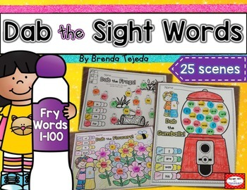 Dab the Sight Words