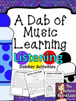 Dabber Activities for Music Class - Listening Journals