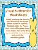 Dad Ate the PEEPS! - Visual Subtraction Worksheet - No Pre
