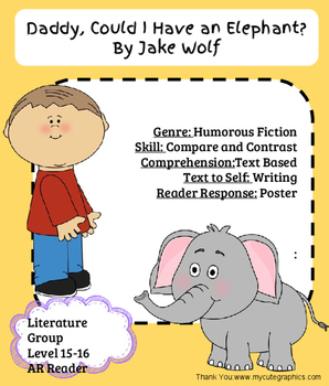 Daddy, Could I Have An Elephant- Literature Reader