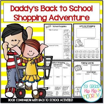 Back to School Literacy Activities ...A School Supply Shop