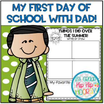 Back to School with Dad on the First Day!