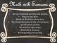 Daily 3 MATH Behaviors Anchor Charts/Posters (Black Chalkb