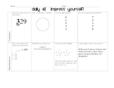 Daily 4 Math Review